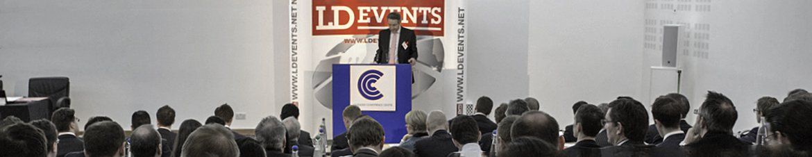 A speaker at one of LD Events' annual property investment conferences.