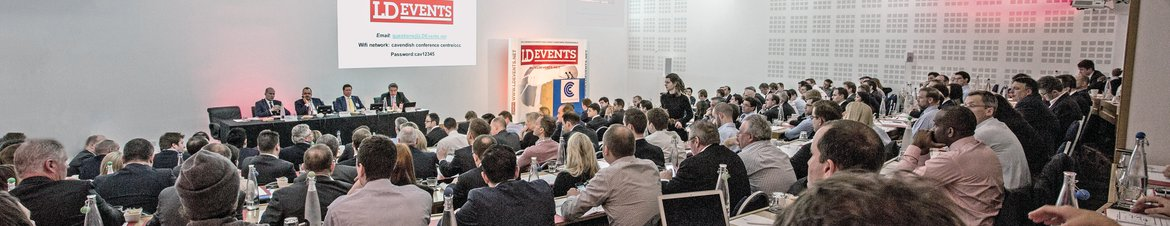 Photo from LD Events' property investment conference.
